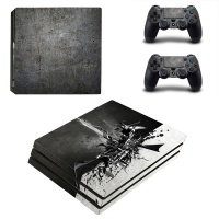 skin nit decal for ps4 pro metal design