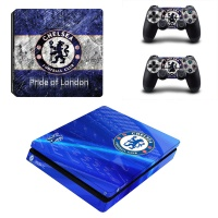 skin nit decal for ps4 slim chelsea fc
