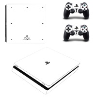 skin nit decal for ps4 slim white
