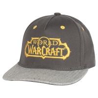 JINX World Of Warcraft Glory Stretch Fit Cap Grey