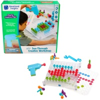 Learning Resources Design Drill Transparent Creative Workshop Tool Set