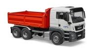 Bruder MAN TGS Construction Truck WhiteRed