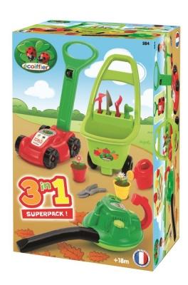 Photo of Ecoiffier 3-In-1 Garden Super Pack