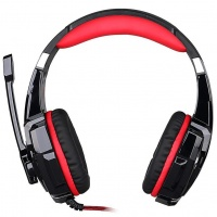 Raz Tech G9000 71 Gaming Headphone Computer Headset with Microphone Red