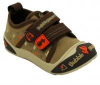 infants bubblegummers fashion closed shoes brown