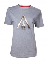 JINX Assassins Creed Odyssey Logo Womens Tee Grey
