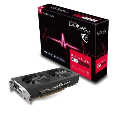 Photo of Sapphire Radeon RX-580 Pulse 8GB Graphics Card
