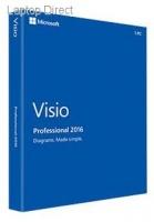 microsoft visio 2016 professional retail pack dvd