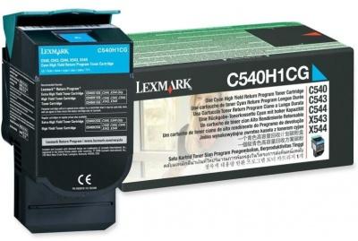 Photo of Lexmark C540H1CG Cyan High Yield Laser Toner Cartridge