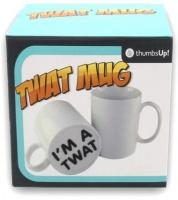 thumbsup surprise mug im a twat electronic toy