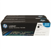 125a 2 pack black laserjet toner cartridges cb540ad