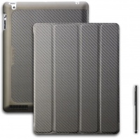 wakeup carbon texture folio case for ipad bronze
