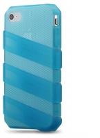 claw translucent case for iphone44s aqua