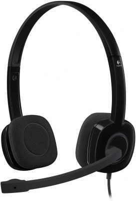 Photo of Logitech H151 Stereo Headset With Noise-cancelling Mic