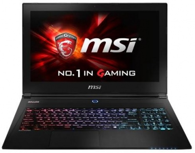 Photo of MSI GS60 laptop
