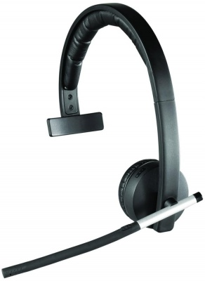 Photo of Logitech H820E Mono Wireless Headset with Flexible Microphone Boom