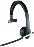 h820e mono wireless headset with flexible microphone boom