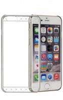 diamond strip mc130 case for iphone 66s silver