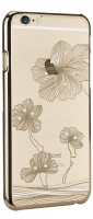 diamond flower mc140 case for iphone 66s gold
