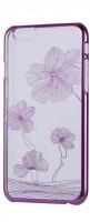 diamond flower mc140 case for iphone 66s pink
