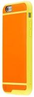 tones shell case for iphone 66s orange yellow