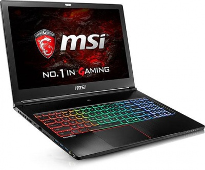 Photo of MSI GS63VR laptop