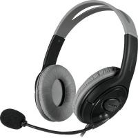 luta stereo pc headset black