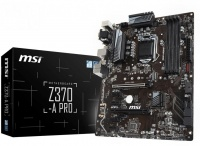 msi pro series intel z370 socket lga1151 atx motherboard hardware