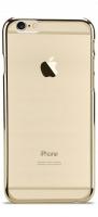 mc210 transparent iphone 66s plus uv case gold