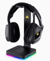 st100 rgb premium 71 gaming headset stand on special