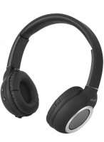 ht300 wireless over ear headset with mic black