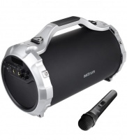 st400 barrel bluetooth speaker with microphone