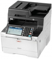 oki mc500 series mc573dn a4 colour laser multifunctional printers scanner