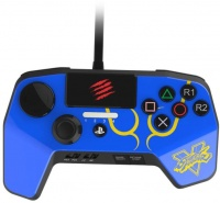 gamepad 6 button controller ps3ps4 blue