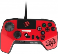 gamepad 6 button controller ps3ps4 red