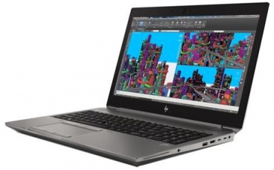 Photo of HP ZBook G5 laptop