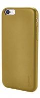 mc100 leather iphone 66s super slim case gold
