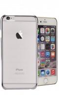 mc110 transparent iphone 66s uv mobile case silver
