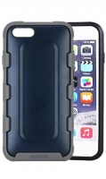 mc160 iphone 66s rugged rubber mobile case blue