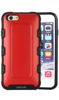 mc160 iphone 66s rugged rubber mobile case red