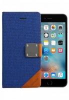 mc610 matte book iphone 66s flip cover blue