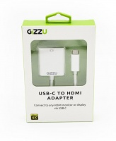 usb c to hdmi 4k adapter white