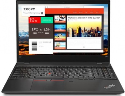 Photo of Lenovo ThinkPad T580 laptop