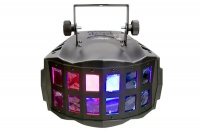 chauvet double derbyx led effects light with programs dj lighting