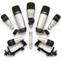 samson audio dk8 8 piece drum microphone set microphone