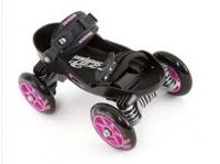 skorpion pink and black skateboarding