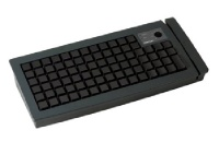 posiflex kb6600bk programmable keyboard with ps2 interface