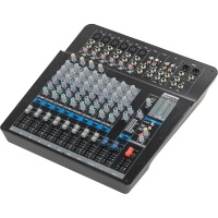 samson mixpad mxp144fx 14 channel analog stereo mixer with