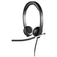 logitech h650e double headphones earphone