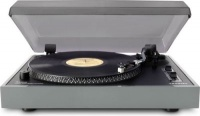 crosley advanced usb turntable with glossy piano finish media player accessory